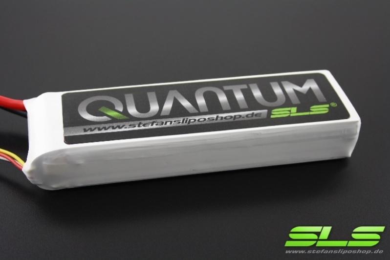 SLS Quantum 5000mAh 2S1P 7,4V 40C/80C
