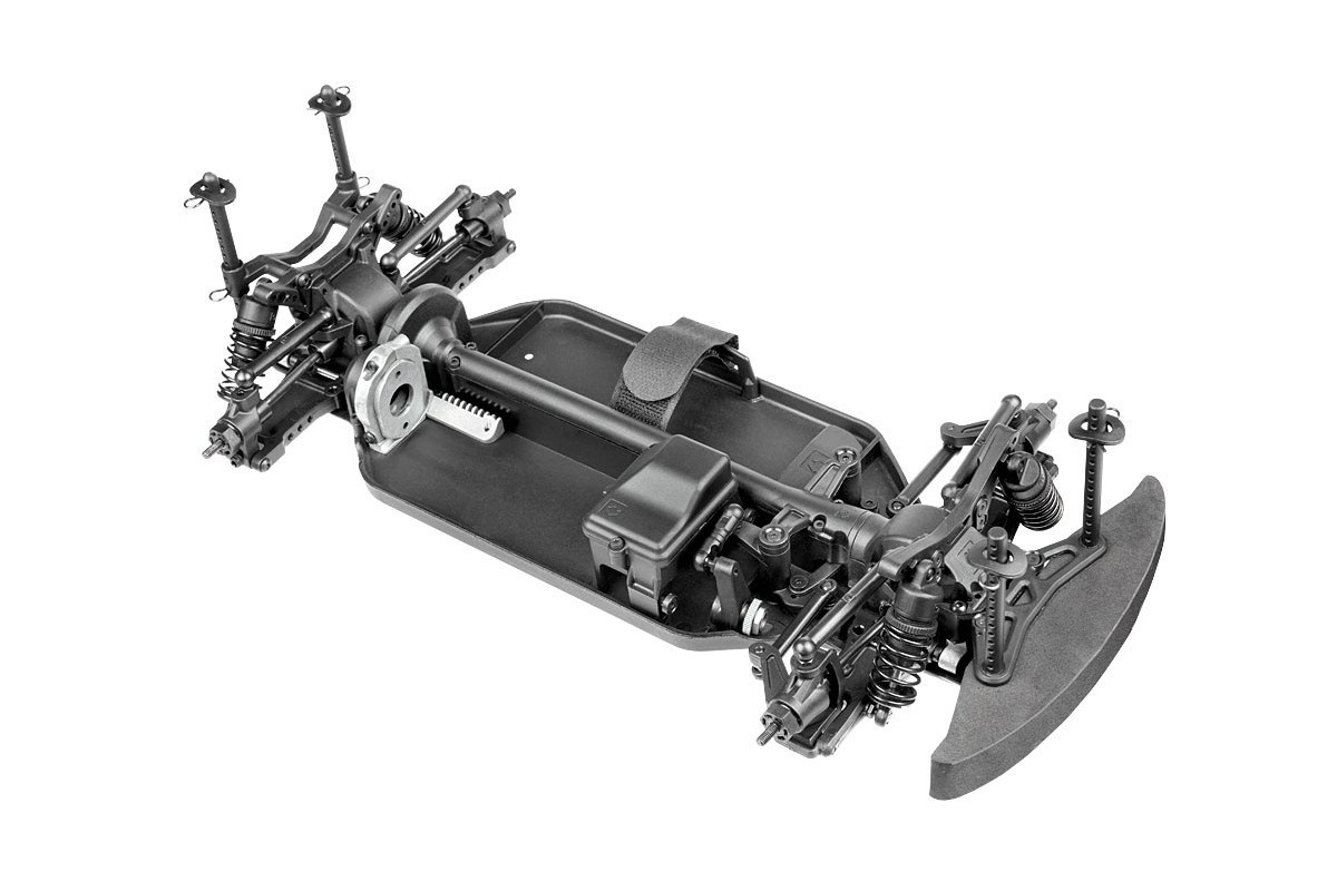 HPI RS4 Sport 3 Challenge Chassis (vormontiert), 118000