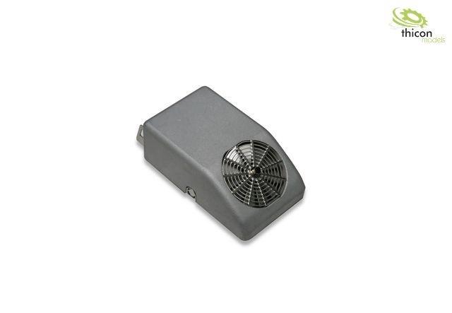 1:14 / 1:16 Klimaanlage für Rückwand aus Metall, #50273