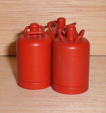 Propangas - Flasche, 11 kg ( Alu, rot )
