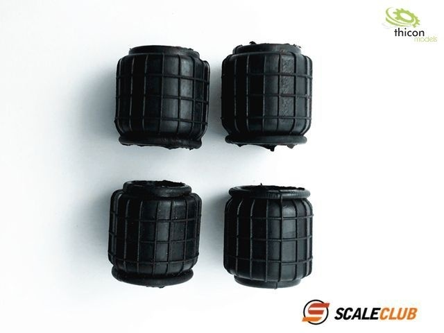 ScaleClub- Luftfederbalg 4 Stück