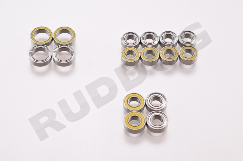 Revolution Design Ultra Bearing Set Tamiya TT02 (16pcs)