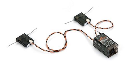 Spektrum AR9020 9-Kanal DSMX/XPlus Empfänger, SPMAR9020