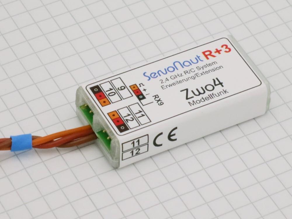 Zwo4R+3 Kanal-Erweiterung für Empfänger RX9 auf 12K