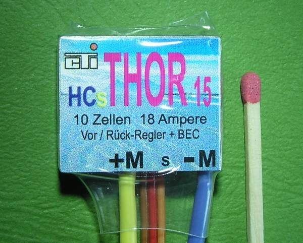 THOR 15HC Regler 12V 18A