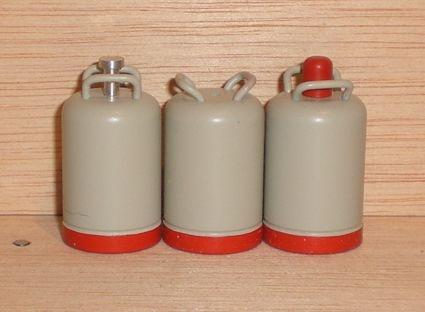 Propangas - Flasche, 11 kg ( Grau/rot )