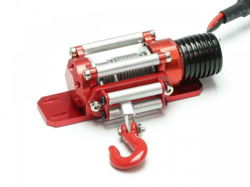 Seilwinde elektrisch 5-12V inkl. Fernbedienung