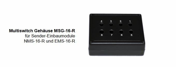 Multiswitch Gehäuse MSG-16-R