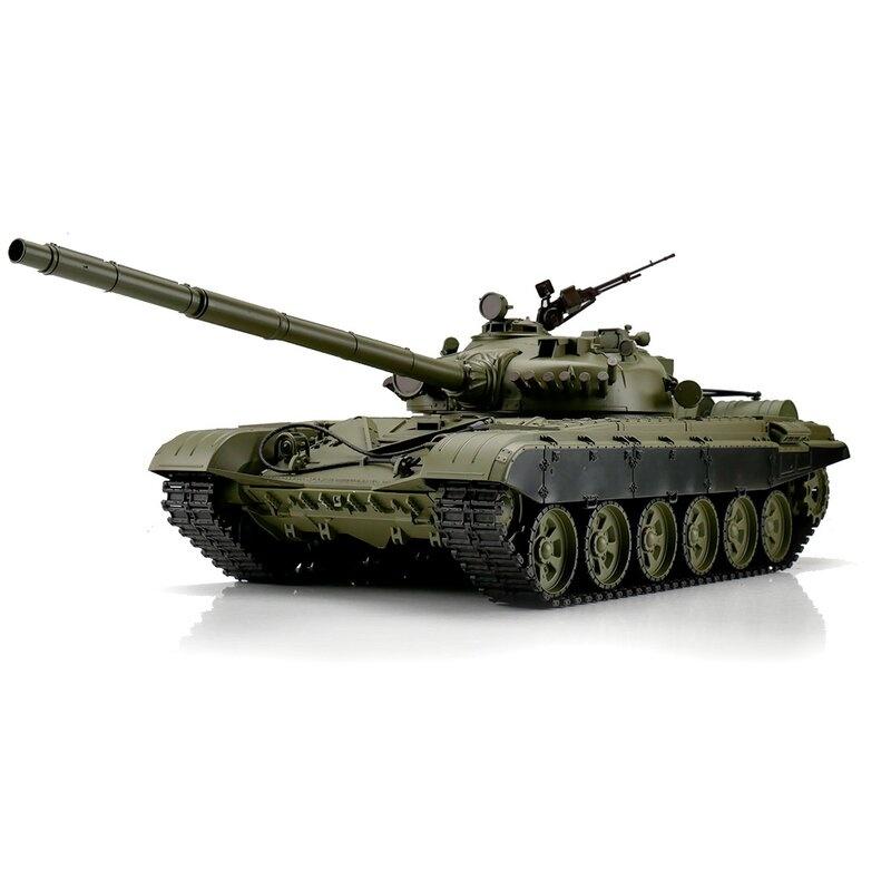 Heng Long 1/16 RC T-72 grün BB+IR (Metallketten)