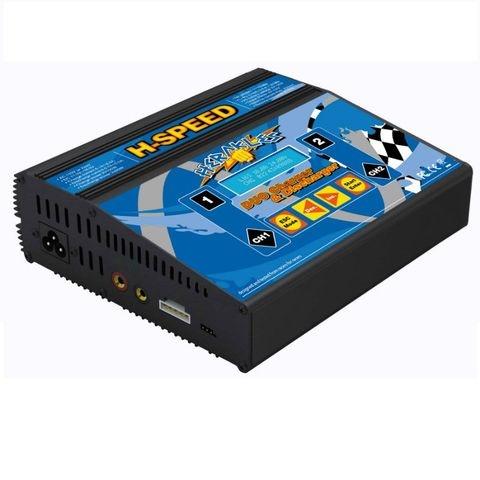 HSPEED Herakles 2.0 AC/DC Dual-Lader/Entlader Li/Po/Fe/Ni/PB