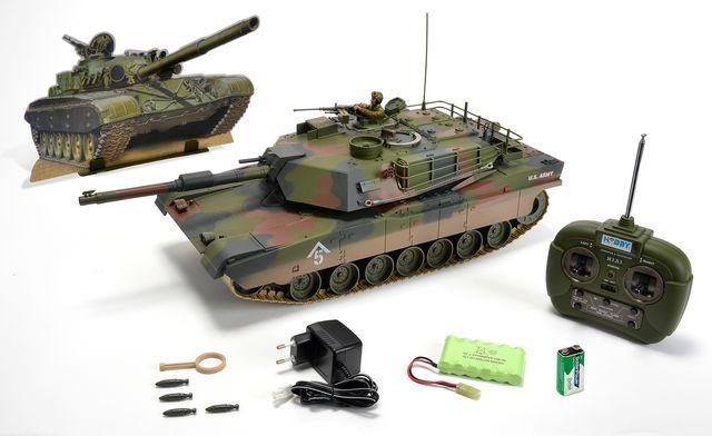 1:16 M1 A1 Abrams  27 MHz  100% RTR