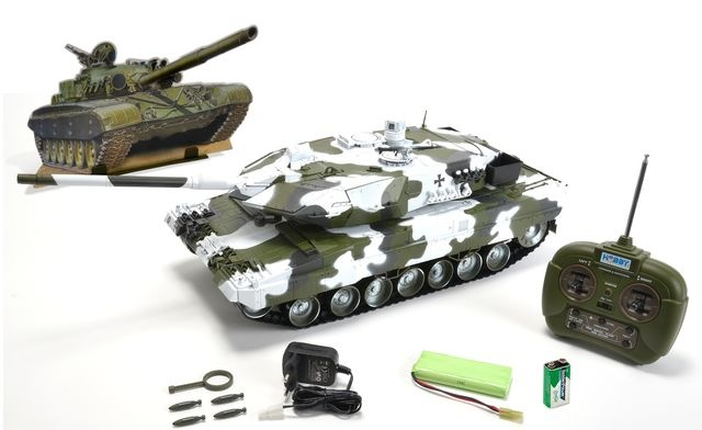 1:16 Leopard 2A6 27 MHz 100% RTR