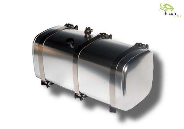 1 14 tank 119mm alu silber mit halterung onlineshop. Black Bedroom Furniture Sets. Home Design Ideas