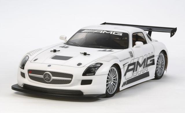 1:10 RC Mer.Benz SLS GT3 AMG TT-02