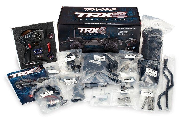 TRAXXAS TRX-4  Kit (Bausatz) Crawler ohne Akku, ohne Lader