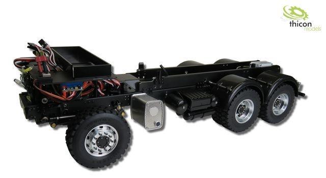 1:14 6x6 Gliederzug-Fahrgestell für Tamiya-Arocs ohne Aufbau