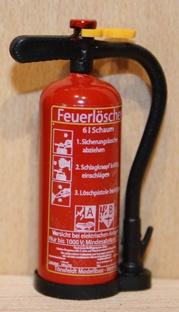 TMV Schaum Feuerlöscher 1:14 Langer Griff Fertig D