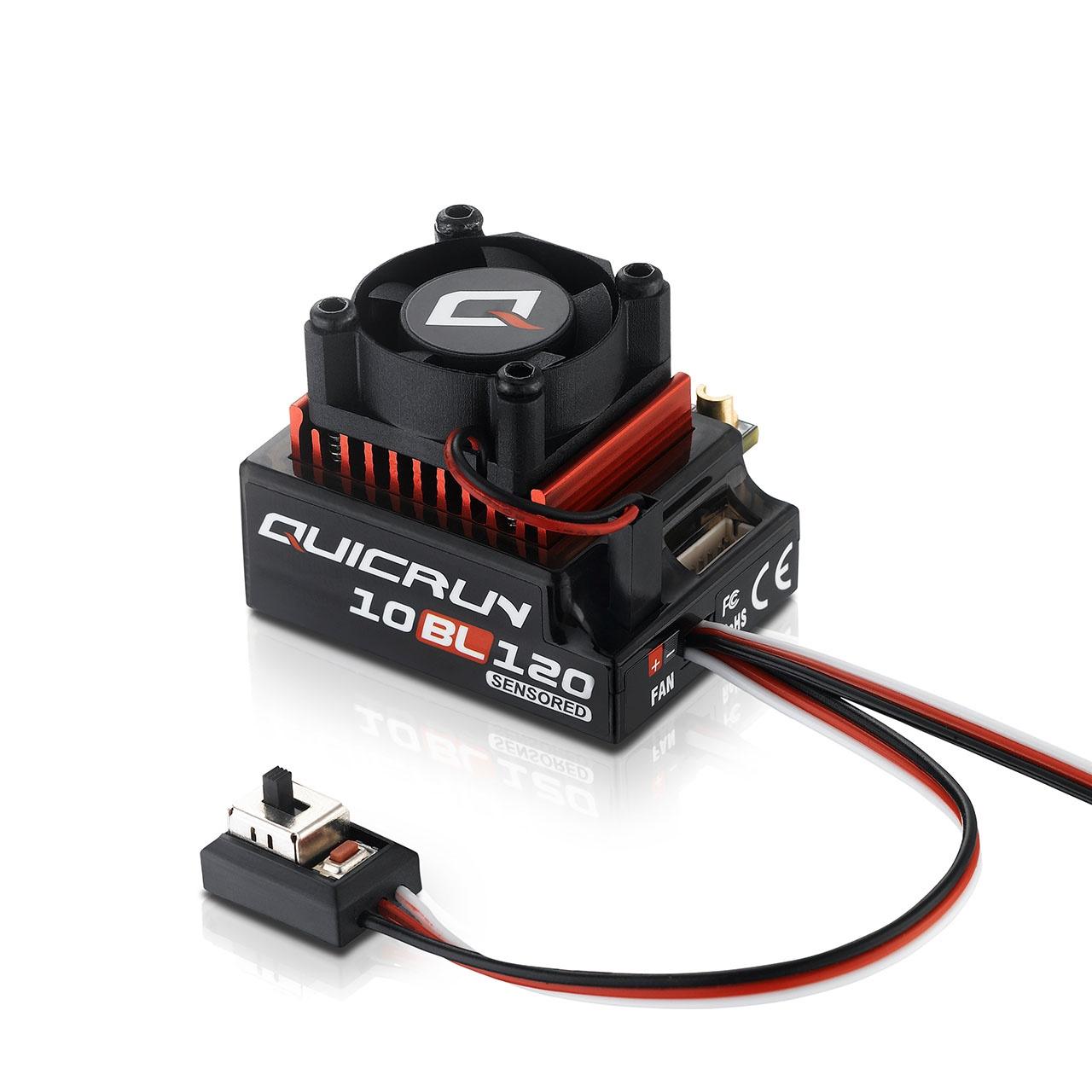 QuicRun 10BL120 120A Sensored Regler