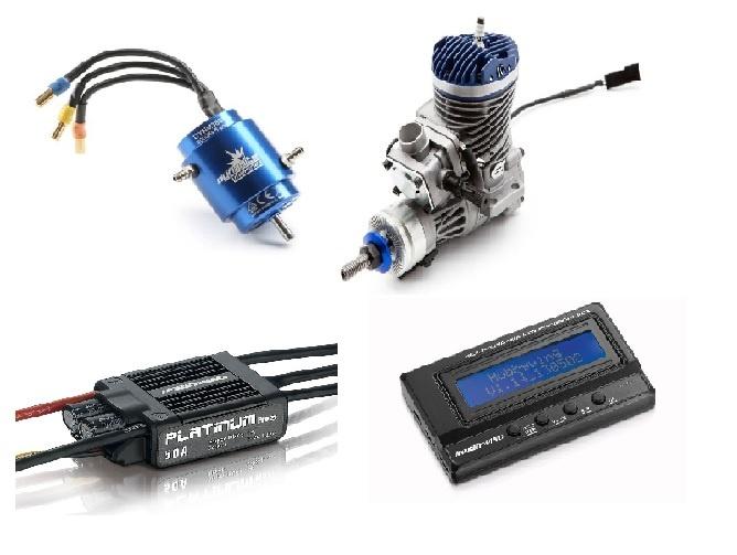 Motoren / Regler/Zubehör