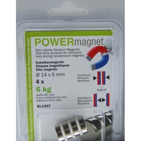 Powermagnete im Blister