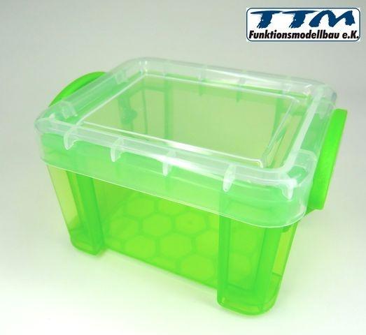 Lagerbox grün 1:10 mit Deckel