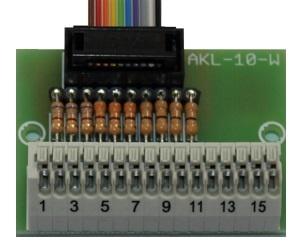 Anschlussklemme für Schaltausgänge AKL-10-W