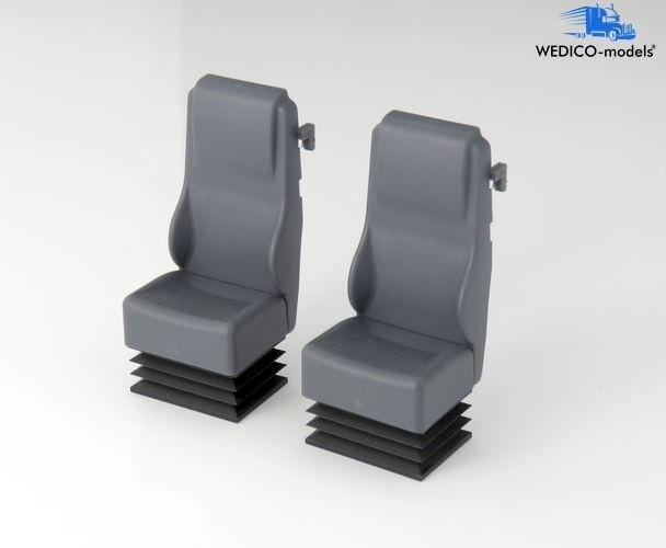 Wedico Schalensitze 457-W