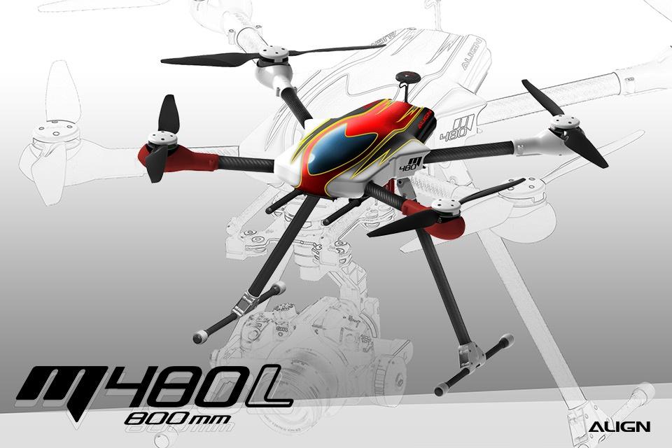 Align Quadrocopter M480L Super Combo
