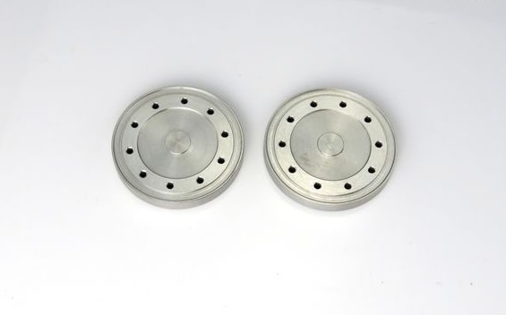 Aluminium - Radkappen f. Hinterachse