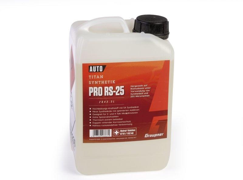 Kraftstoff Titan ProRS25 3 Liter , 2643.3L