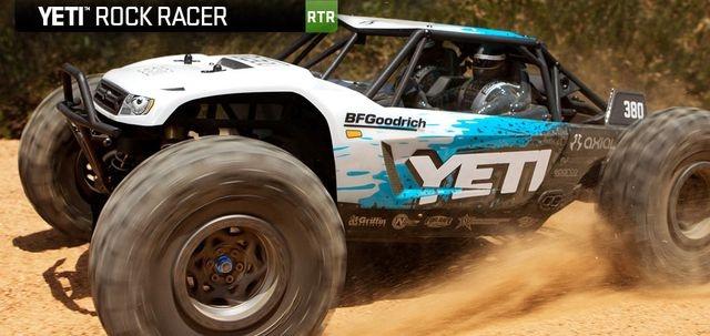 Axial Yeti 1/10 4WD Bl Truck