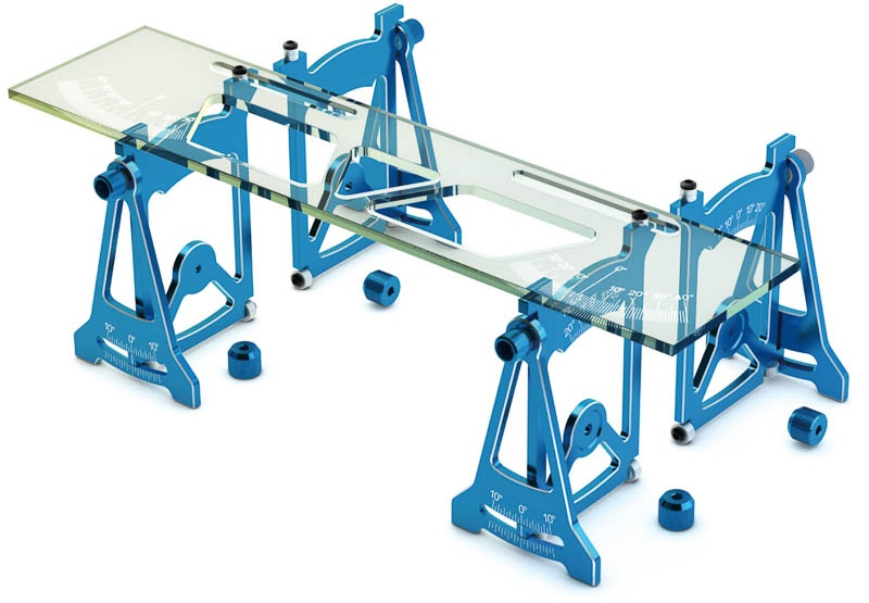SkyRC Einstellehre (Setup Tool) blau  *  SK600069-12