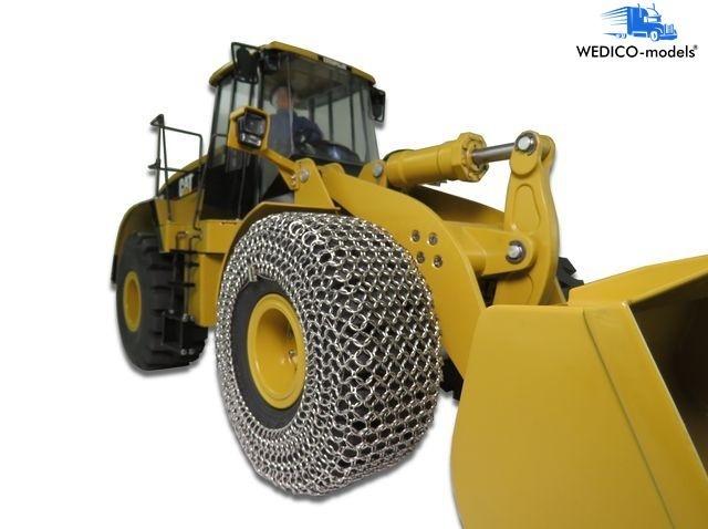 Reifenschutzketten für 2 CAT-Reifen