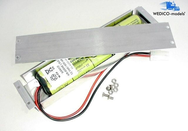 Batteriekasten mit Akku 12V 650mAh NiMh