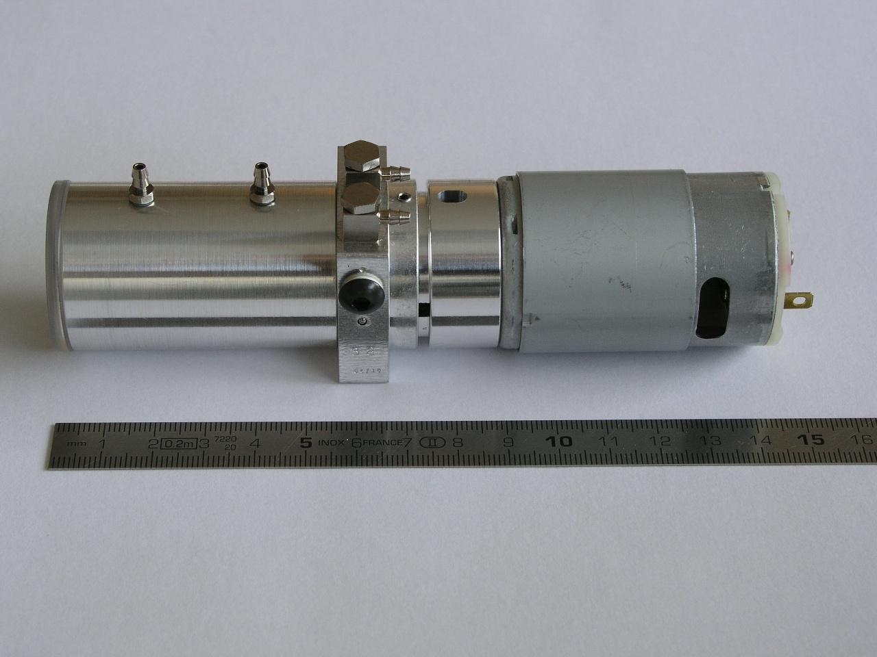 Leimbach Standard Hydraulikpumpeneinheit M4(12V, 380ml/min)