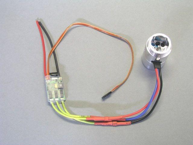 Brushlessmotor mit Wandler 12V