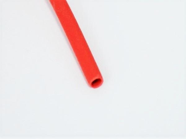 Schrumpfschlauch 25,4 mm rot 1m Rate 2:1