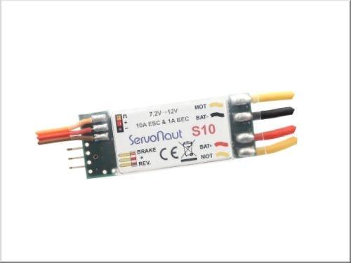 Servonaut S10 Minifahrtregler mit 1A BEC