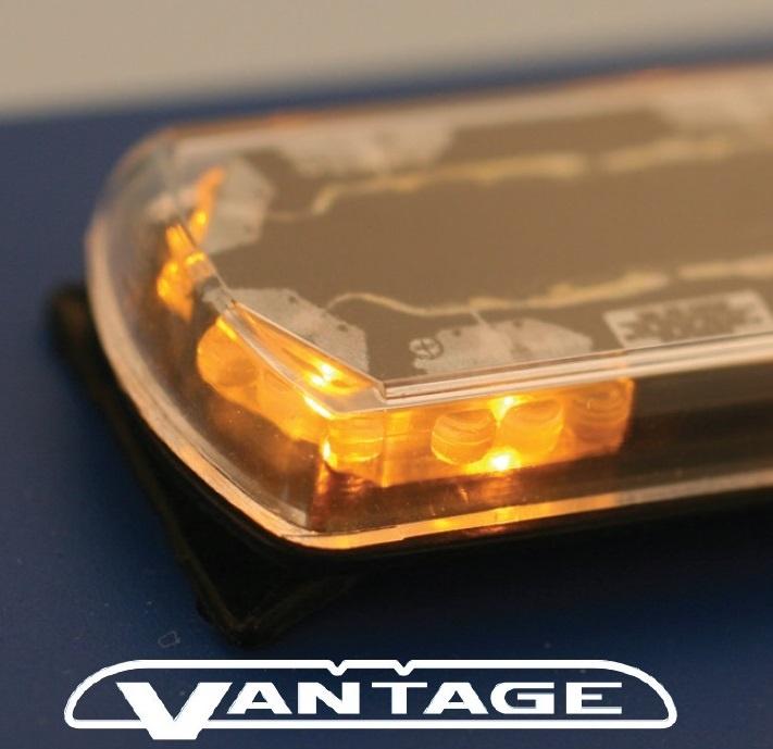 Vantage Lichtbalken flach Gelb LED