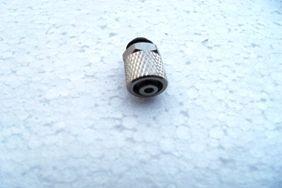 Hydraulik Nippel M5 gerade für 6mm Schlauch
