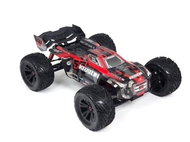 ARRMA KRATON 6Sv2 4WD RTR rot