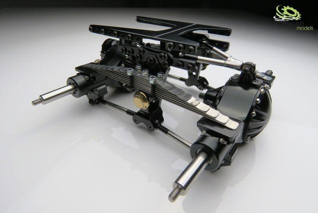 Motor/gearbox/Axles