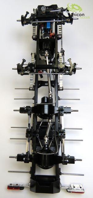 1 14 8x4 thicon schwerlast chassis light 2 bausatz. Black Bedroom Furniture Sets. Home Design Ideas