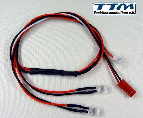 LED-Set weiß 5V mit Stecker