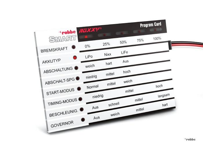 Robbe ROXXY Smart Program Card  *85731000