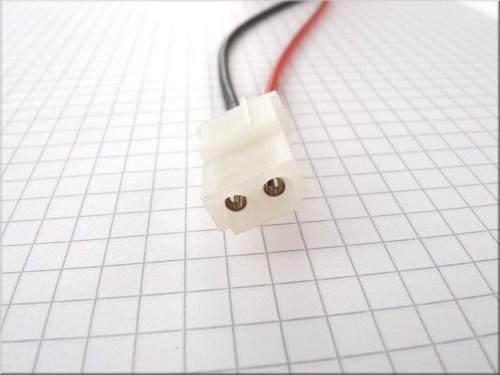 AMP-Buchse mit Silikonkabel, 1.5mm², 30cm