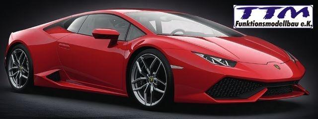 Pocher Lamborghini Huracán LP 610-4 Rosso Mars met rot 1:8