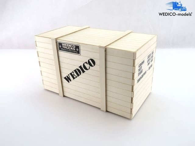 Transportkiste groß aus Holz, Bausatz, 2304-W