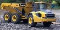 LESU 1:16 Dumper 6x6 Bausatz aus Edelstahl mit Hydraulik
