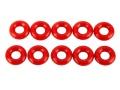 Mugen MTC1 S3 Soft O-Ring für geringere Reibung (Red 50°),